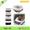 TAILUP Dog Car Seats Zipper Deisgn Collapsible Folding Pet Booster Seat Carrier