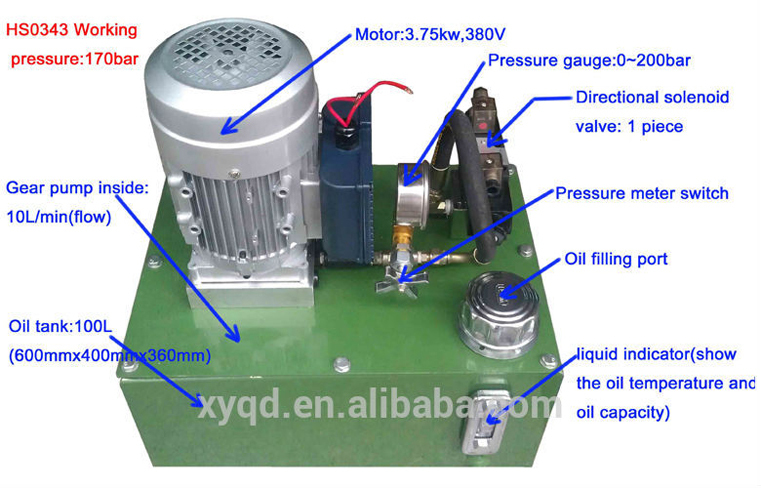 Hydraulic Pump System Design
