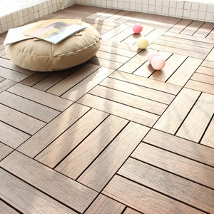 Skin-friendly outdoor pool WPC Floor/decking wood composite tiles
