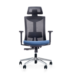 High Back Director Office General Use Reclining Chair With Dustproof Mesh
