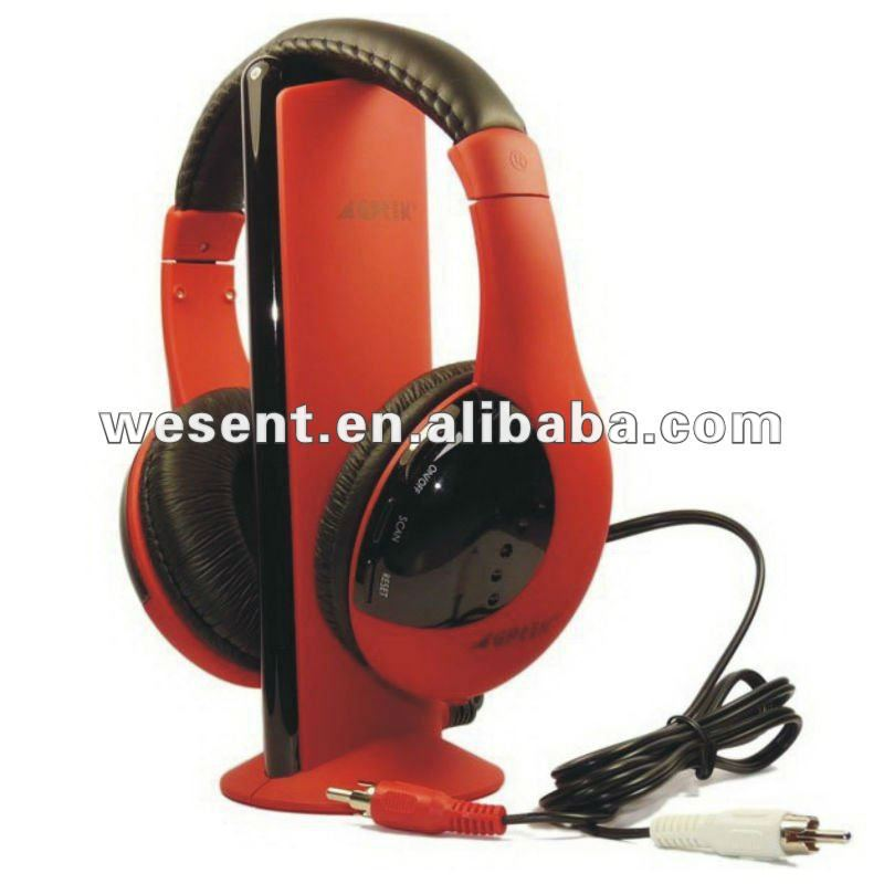 5 IN1 FM Wireless Headphone for TV/MP3/DVD/PC