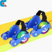 Kids Toy Four Wheel Flashing LED Roller Skate Shoes