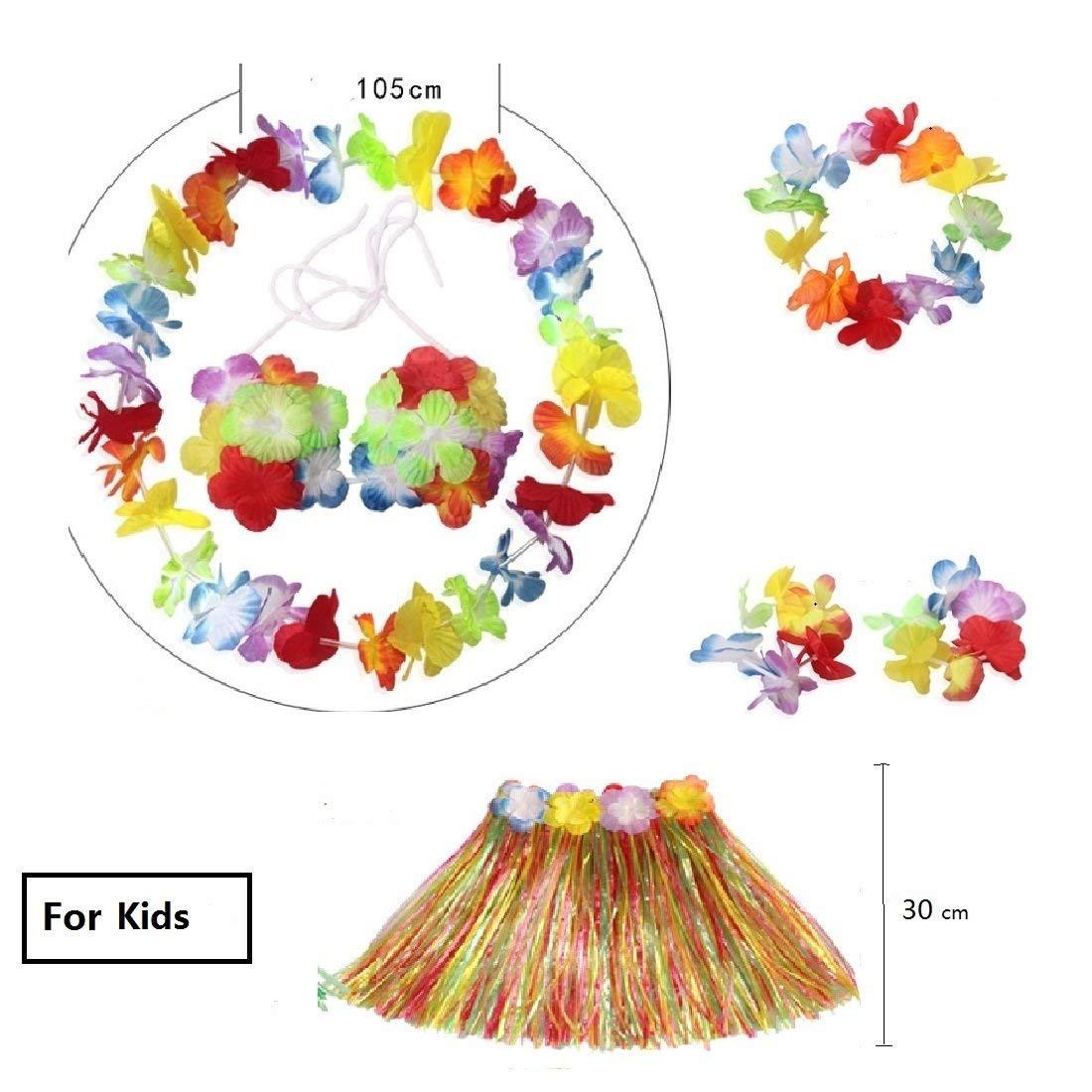 Cheap fancy dress flower find fancy dress flower deals on line at get quotations kaymayn 6 pieces for a set hawaiian multi coloured lei flower garlandsilk flowers izmirmasajfo
