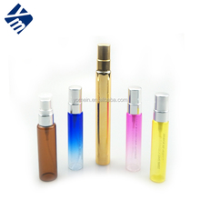 Customize colored 5ml 10ml glass vial with spray for sample perfume