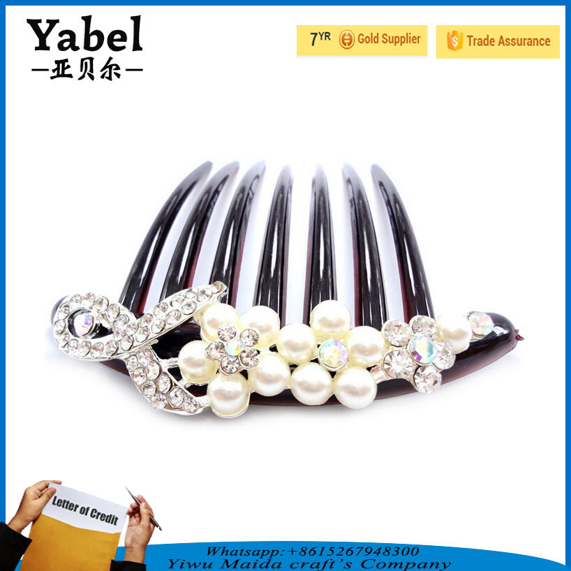 High quality bridal bride hair jewelry hairbands hair accessories shinning hair jewelry