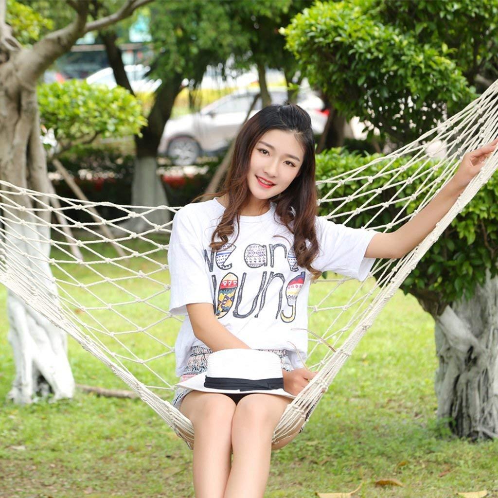 Ren Chang Jia Shi Pin Firm Hammock outdoor cotton rope hammock mesh swing children adult flip chair