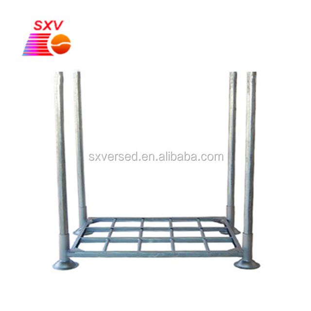 high quality galvanized steel pallet cage for heavy package