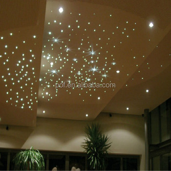 Stars Ceiling Hanging Decorations Lucent Pmma Fibre Optic Sky Star ...
