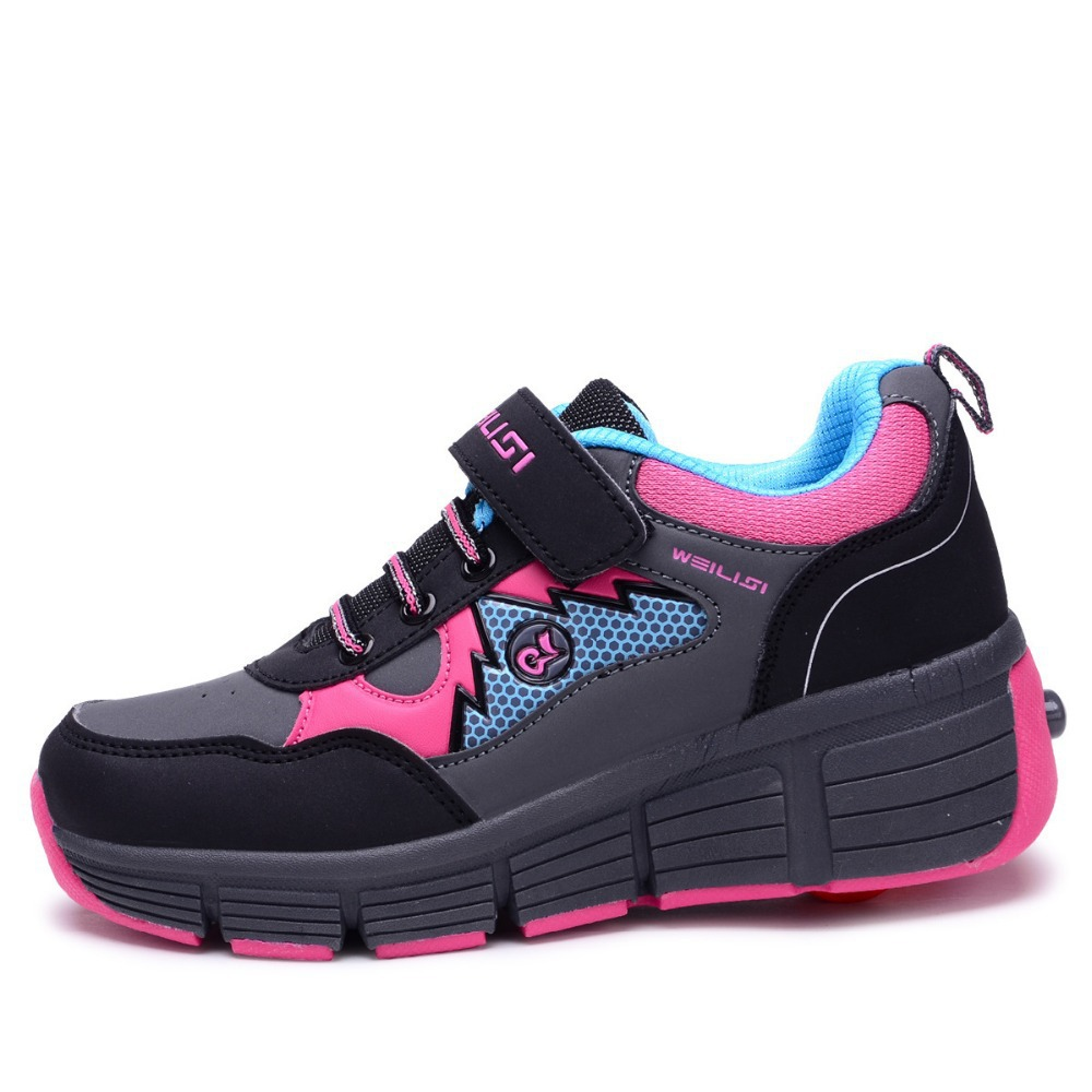 Roller shoes cheap - Get Quotations 2015 New Children Heelys Boys And Girls Shoes Waterproof Heelys Rollerskate Roller Shoes Kids Sneakers Size31