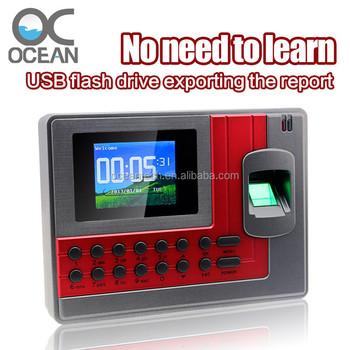 Zk Replacement Fingerprint & Rfid Time Attendance Recording Terminal - Buy  Zk Biometric Fingerprint Employee Time Attendance Recording