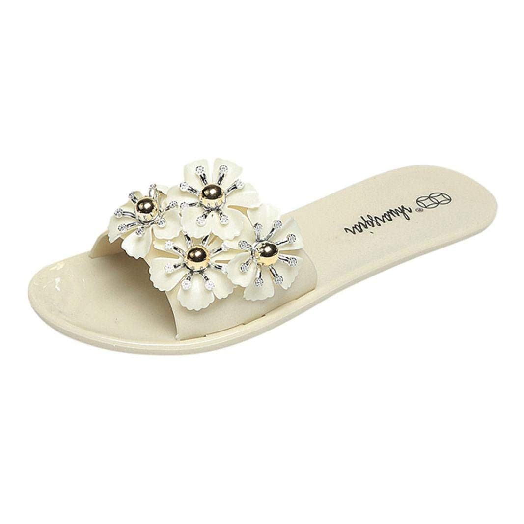 8f732eef6 Get Quotations · Women s Floral Flat Sandals