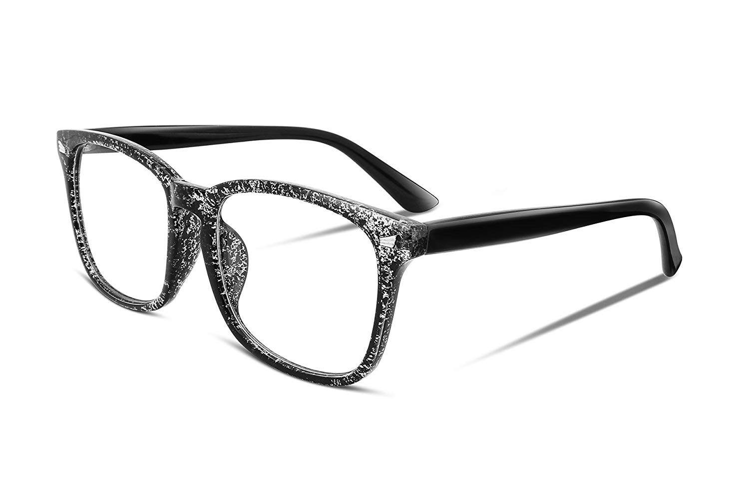 51902a9a9d9 Get Quotations · FEISEDY Square Non prescription Glasses Frame Men Womens  Optical Eyewear Frame B2286