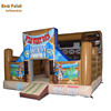 Inflatable Bounce House West cowboy Jumping Castle for kids party