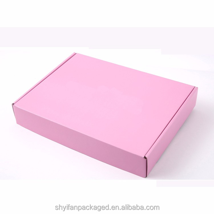 Custom high quality E flute paper box gift box packaging