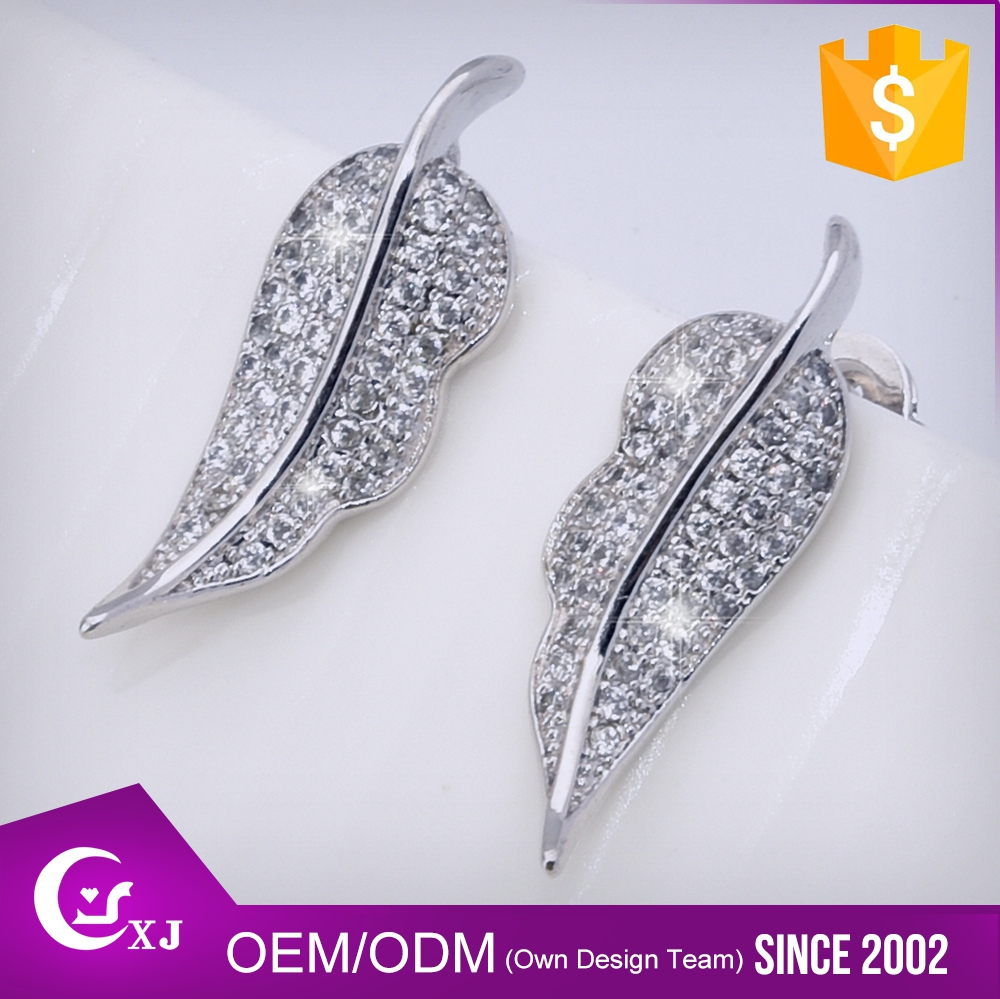 Promotional Price Various Design Zircon Earrings
