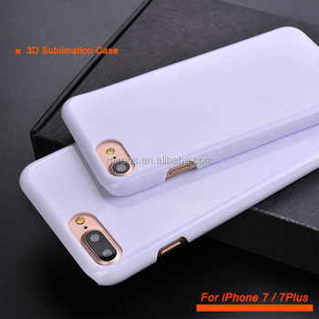 4f0e25a0e9 3D Sublimation Blank Heat Press Printing Mobile Cover For iPhone 7 7S 8 Case