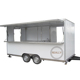 Trailer cart mobile food kiosk with wheels for easy moving food cart for sale