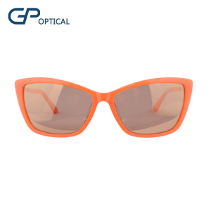 GP6075 New fashion Cat Eye color Acetate Sunglasses for women
