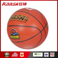 Kansa-934 Women Match Use Indoor&Outdoor In Best Quality Orange Color Basketball Ball