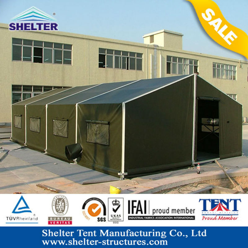 80 People big army tent for training 8x30