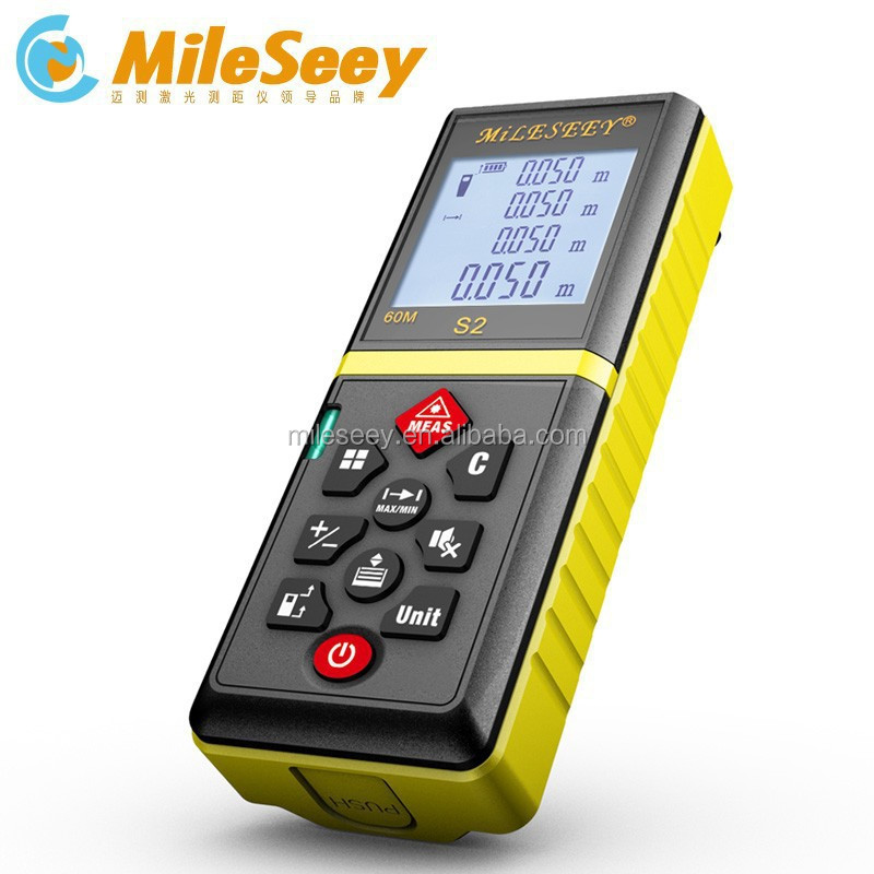 Best price Mileseey S2 100m mini digital multimeter optical distance measure instruments