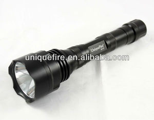 UniqueFire Cree XML T6 LED Police Long Range Led Flashlight with 5-modes