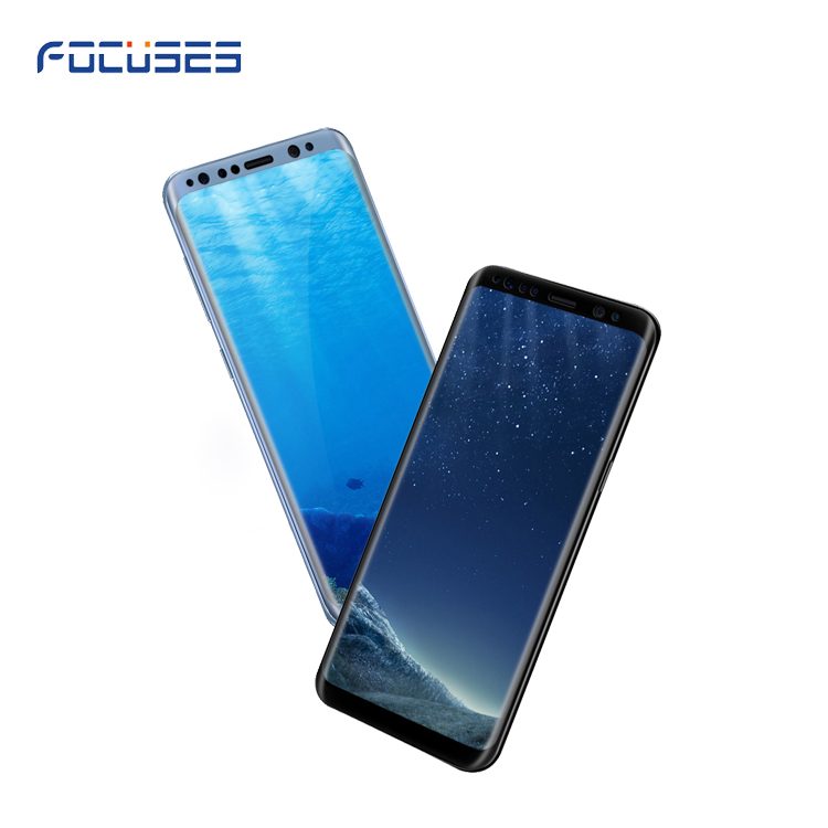 Wholesale price 3D Full Cover Anti burst galaxy S8 tempered glass film screen protector for Samsung Galaxy S8/S8 plus