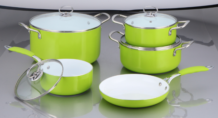 The Best Ceramic Cookware - Our Top Picks - Kitchenaholic |Colorful Ceramic Cookware
