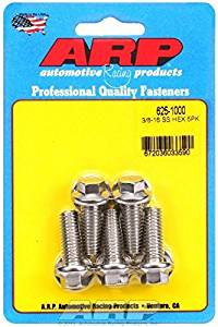 ARP 625-1000 3/8-16 x 1.000 hex 7/16 wrenching SS bolts by ARP