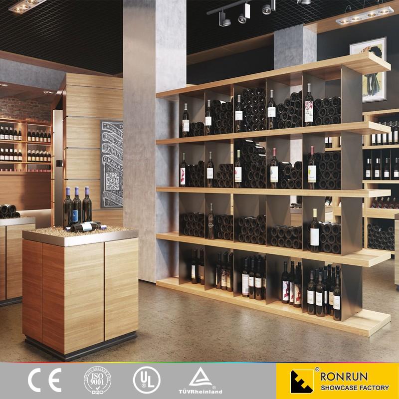 Su misura mobili per bottiglie di vino espositore in legno - Estanterias para botellas ...