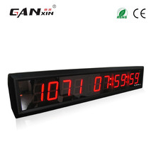 "[Ganxin]New Arrival 1.8"" 10 Digits Alibaba China Led Sports Days Timing Countdown Clock Supports HRS MINTS SECS"
