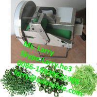 automatic lettuce cutting machine/spring onion slicing machine/spinach cutting machine