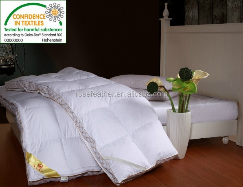 Wholesale hot selling cheap feather and down hospital bed mattress toppers
