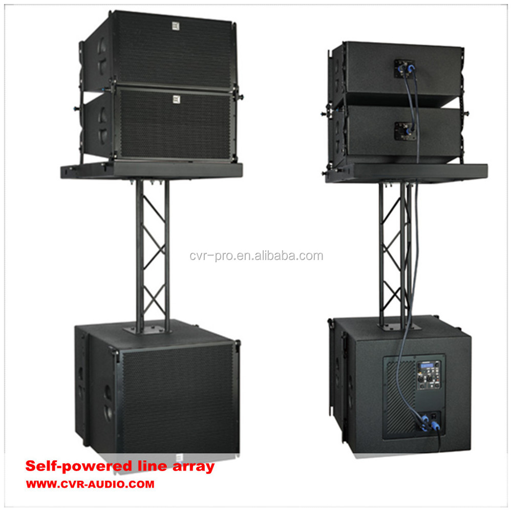 2015 Mejor Venta De Line Array Speaker Dual 5 Pulgadas