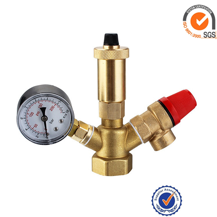 safety valve group air vent pipe gate high lift type forged thread connection relief valves