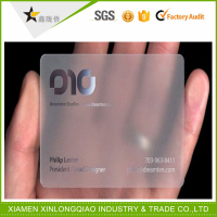 Good quality plastic employee id cards office transparent id cards