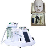 4 in <span class=keywords><strong>1</strong></span> Gesichts pflege <span class=keywords><strong>aqua</strong></span> peel tragbare sauerstoff wasser jet peeling diamant Mikrodermabrasion maschine mit 7 farbe Led maske