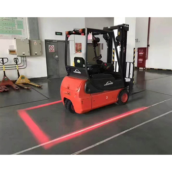 Led Halo Zone Lights For Trucks Red Zone Forklift Safety