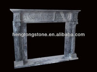 Marble Antique Grey Fireplace Surround