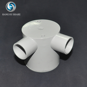 Hot selling electrical conduit durable pipe fitting 2 way 90 degree box