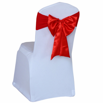 Pleasant Wholesale Cheep Hot Sale White Banquet Spandex Stretch Chair Cover With Silver Bowknot Band Wedding Chair Buy Spandex Folding Chair Cover Stretch Pabps2019 Chair Design Images Pabps2019Com