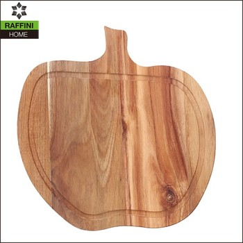 Custom Apple-shaped Cutting Board