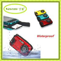 12MP 2.7 inch LCD screen waterproof digital camera with smile shutter