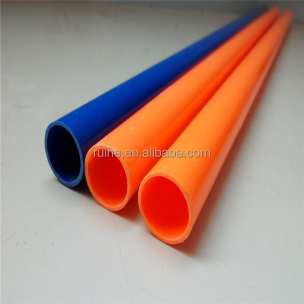 Plastic popular flexible electrical pvc pipe