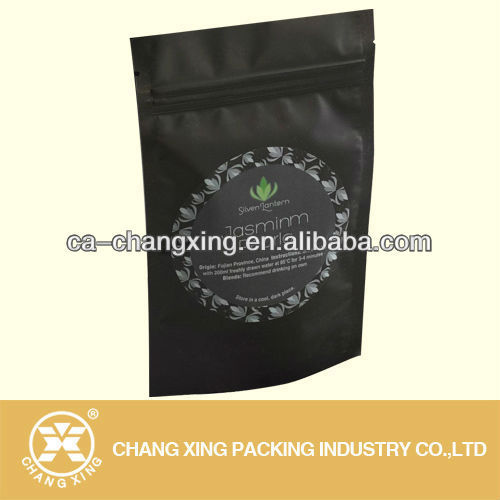 Black Resealable Plastic Ziplock Bags For Food Matte Color Bag Product On Alibaba