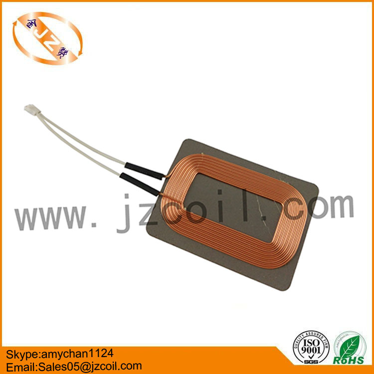 Long inductive distance qi inductor coil/induction power coil/qi charge coil 10.4uH