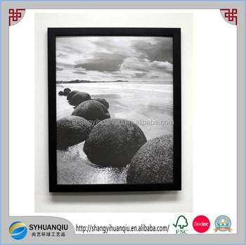 Lot Of 6 Pcs 18x24 Matte Black Wood Smooth Finish Picture Photo Post ...