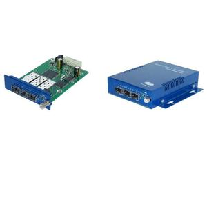 Managed Gigabit Ethernet Media Converter with Automatic Protection Switch (APS) Function
