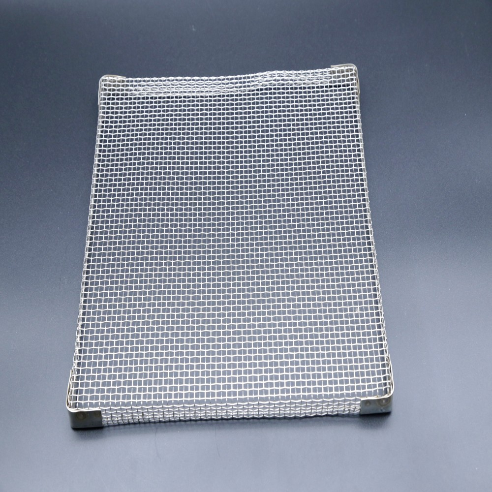 304 316L Stainless steel wire mesh trays for drying machine