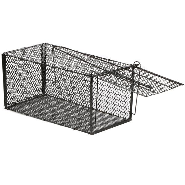 Catcher Mice Spring Loaded Cage Trap Muse Live Animal Rodent Capture Rat